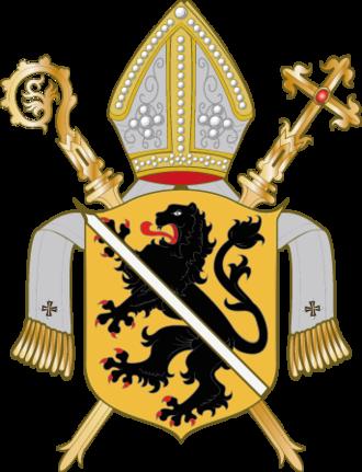 Roman Catholic Archdiocese of Bamberg - Image: Wappen Bistum Bamberg
