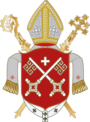 Gerhard II (archbishop of Bremen and Hamburg) - Coats of arms of the archbishopric of Bremen
