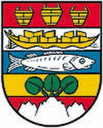 Gmunden - Image: Wappen Gmunden