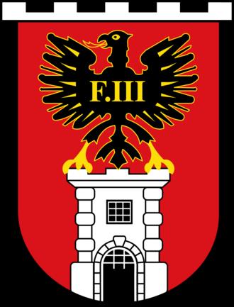 Fachhochschule - Wappen der Stadt Eisenstadt
