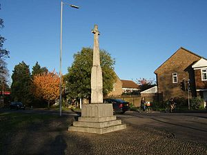Trumpington - Image: War memorial trumpington