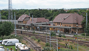 Rostock S-Bahn - Image: Warnemuende Bahnhof