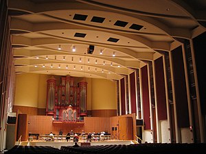 Oberlin Conservatory of Music - Warner Concert Hall