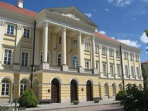 Tadeusz Kościuszko - Warsaw's Kazimierz Palace, where Kościuszko attended the Corps of Cadets
