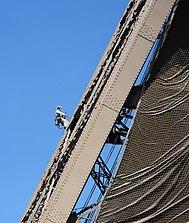 Maintenance work on the Eiffel Tower.jpg