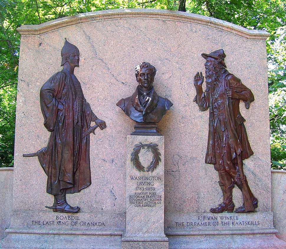 Washington Irving Memorial Irvington
