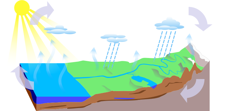 Water Cycle - blank