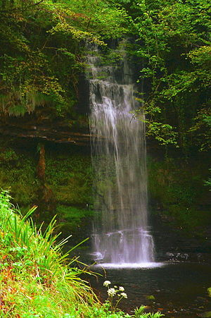 Glencar Lough - Glencar Waterfall