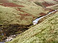 Waterfall on Crowden Little Brook - geograph.org.uk - 75011.jpg