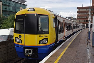 Watford DC line commuter railway line from London Euston to Watford Junction