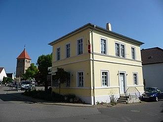 Weisenheim am Berg - Former school building by August von Voit