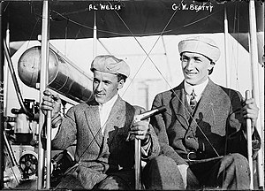 George William Beatty - Arthur L. Welsh and George William Beatty circa 1911