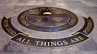 With God, all things are possible Motto of the U.S. state of Ohio