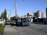 A West Vancouver Blue Bus.