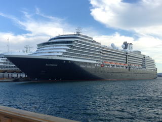 MS <i>Westerdam</i> Vista Class cruise ship owned by Holland America Line