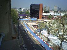 Wood Lane tube station (Central line) - Wikipedia