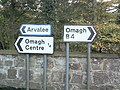 Which way Omagh^ - geograph.org.uk - 147646.jpg