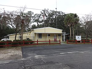 White Springs, Florida - White Springs Town Hall and Police Department