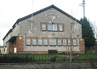 Springfield Road - Whiterock Orange Hall, where the riots began