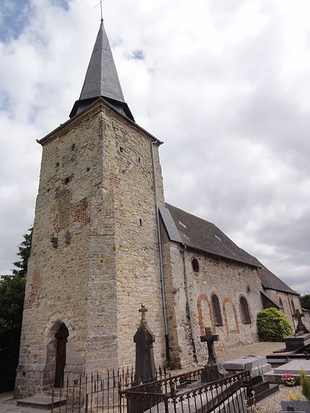 Wiège-Faty (Aisne) église de Faty