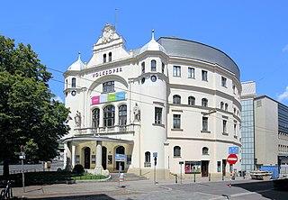 Vienna Volksoper building in Vienna, Austria