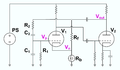 Wien bridge oscillator schematic from Hewletts US patent.png