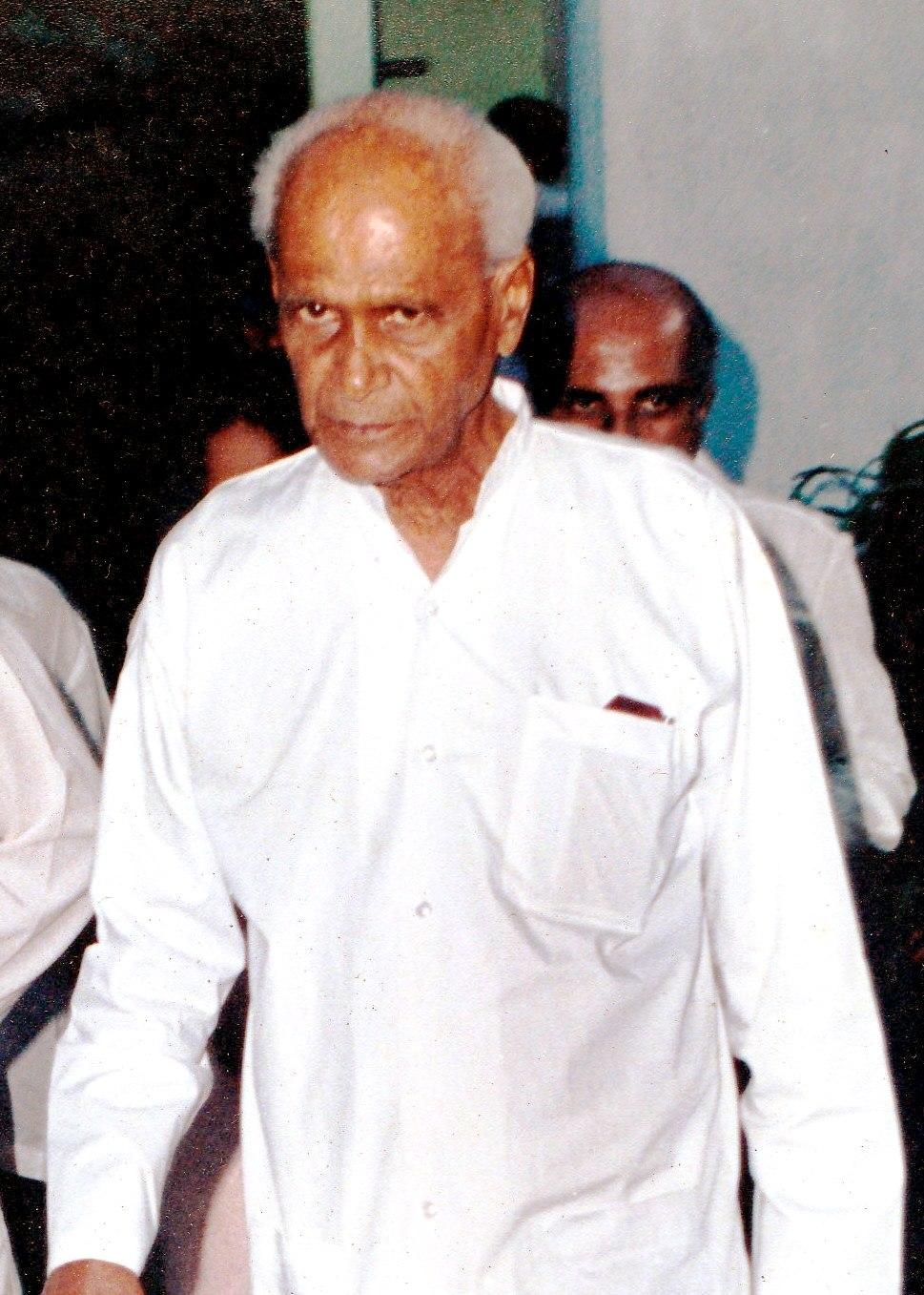 Wijeyananda Dahanayake portrait
