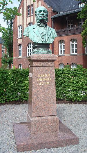 Wilhelm Griesinger - Monument to Wilhelm Griesinger in Berlin