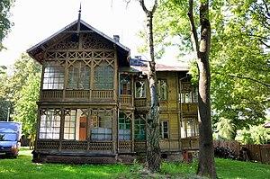 Świdermajer - Heritage villa designed in Świdermajer style at the Warsaw Białołęka on Fletniowa 2 Street