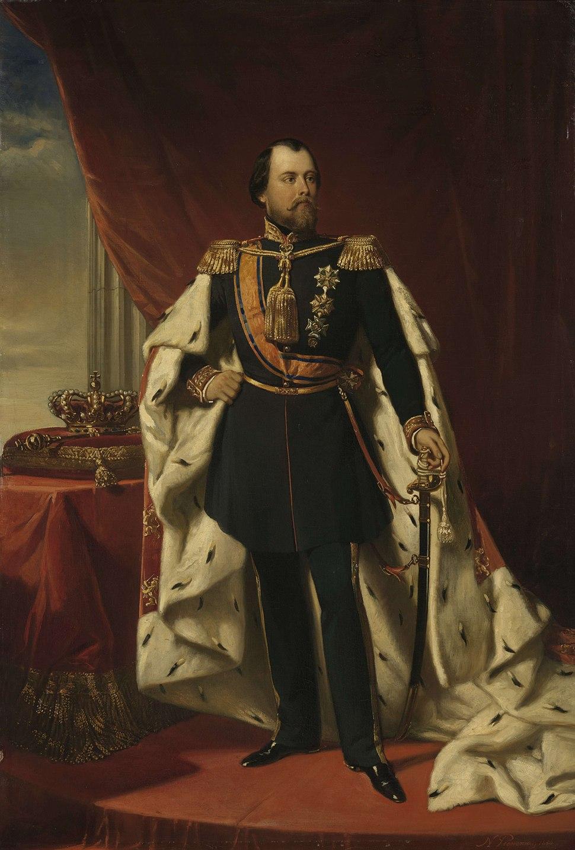 Willem III (1817-90), koning der Nederlanden, Nicolaas Pieneman, 1856 - Rijksmuseum