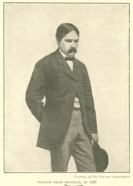William Dean Howells in 1866