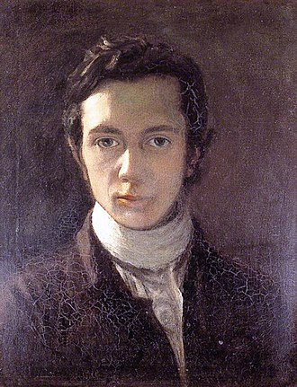 William Hazlitt - A self-portrait from about 1802