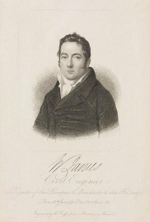 William James (railway promoter) - William James c. 1800