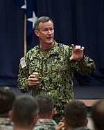 William McRaven commander of the US Special Operations Command.jpg