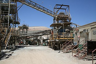 Wiluna Gold Mine - Wiluna Mill before the 2008-09 upgrade