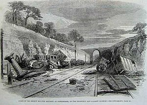 Winchburgh rail crash - Winchburgh rail crash