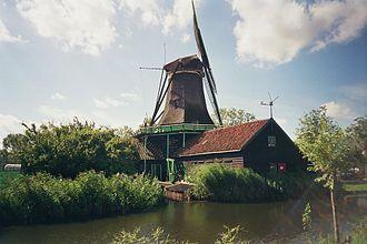 Zaanstad - Image: Windmill Het Pink Zaanstad