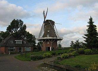 Kollumerland en Nieuwkruisland - Windmill Rust Roest