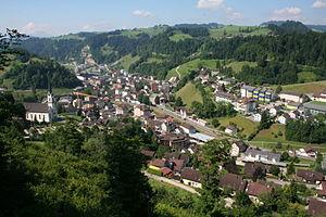 Wolhusen - Image: Wolhusen Dorf