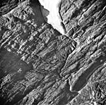 Wolverine Glacier, terminus of valley glacier, September 3, 1974 (GLACIERS 6952).jpg