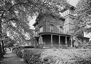 Woodland Terrace, Philadelphia - Image: Woodland Terrace