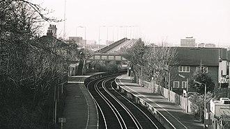 Woolston railway station - Image: Woolston station