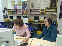 Workshop in project Wiki Senior in the Belgrade City Library 16.jpg