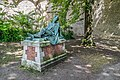 Wounded soldier in the park of the Castle of Montresor 01.jpg