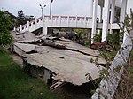 Wreckage at B52 Victory Museum 20060214.jpg