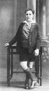Xosé María aos 14 anos.
