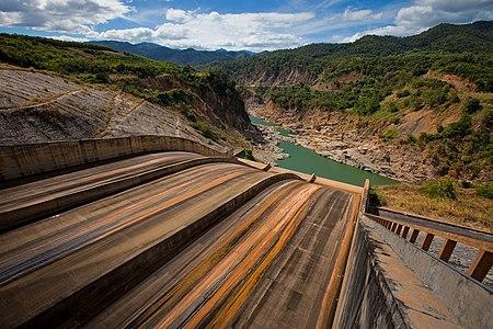 Ya Ly Dam spillway, Vietnam