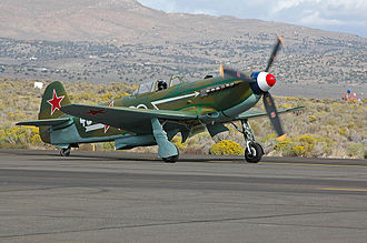 Yakovlev Yak-9 - An airworthy replica of Yak-9U (Yak-9UM) at Reno, USA