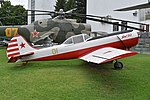 Yakolev Yak-50 '01 yellow' (37995223565).jpg
