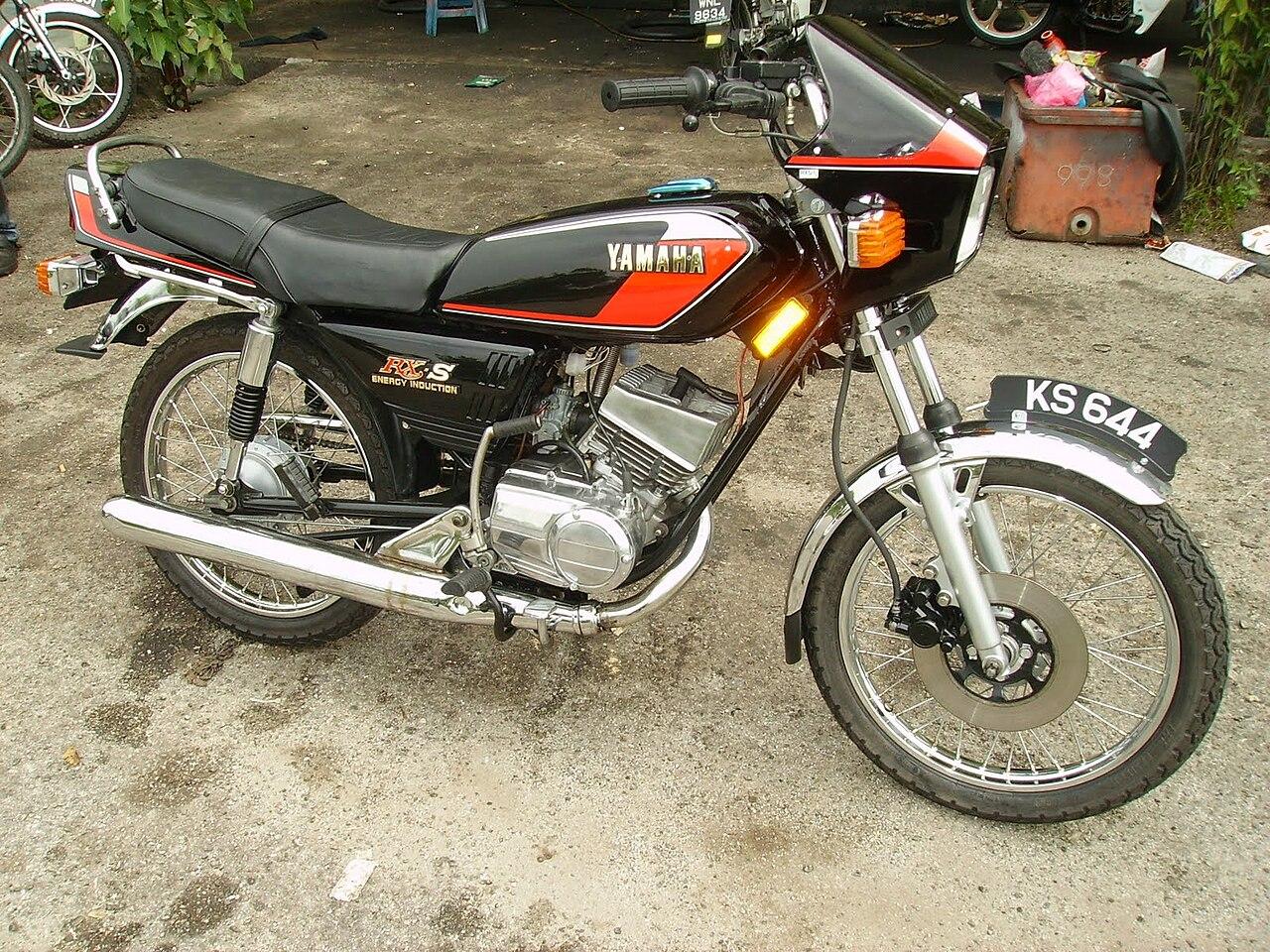 Yamaha Rxz History
